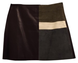 Theory Mini Skirt Multicolored