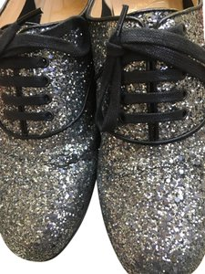 Christian Louboutin Oxfords Glitter Flats