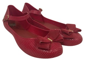 Melissa Red Flats