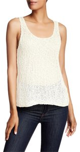 Eileen Fisher Scoop Top WHITE