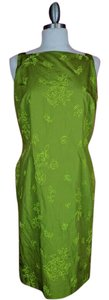 Ann Taylor LOFT short dress Green Vintage on Tradesy