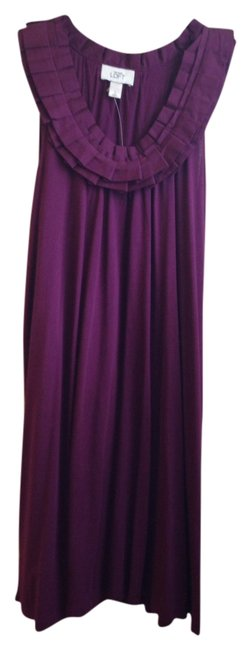 Ann Taylor LOFT short dress Plum on Tradesy