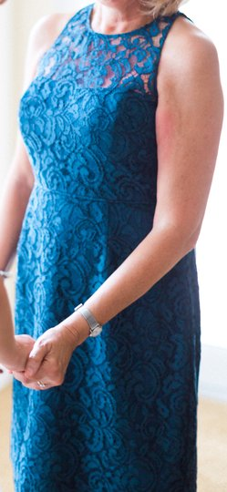J.Crew Acropolis Blue Pamela Dress