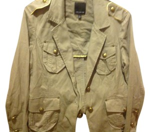 The Limited Like New Feee Ship Light Weight Olive Green Blazer