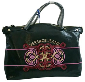 Versace Jeans Collection Satchel in Black