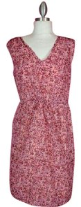 Ann Taylor short dress Pink Multi-colored on Tradesy