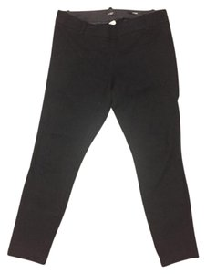 J.Crew Wool Stretchy Skinny Pants Black