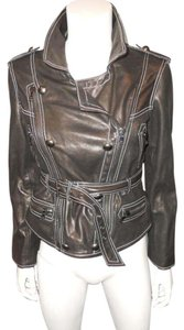 3.1 Phillip Lim Biker Motorcycle Leather Jacket
