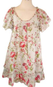 Patterson J. Kincaid short dress Multi Color Peasant Rose Floral Flare on Tradesy