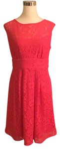 Dress Barn short dress hot pink on Tradesy