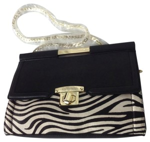 Gianni Bini Zebra, Hot Pink Clutch