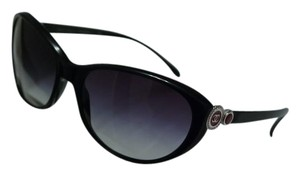 Chanel NEW Chanel 5190 Bouton Collection Black Cat Eye Sunglasses