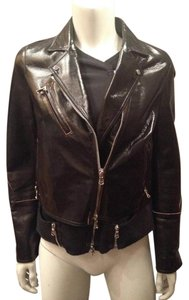 3.1 Phillip Lim Biker Motorcycle Trompe Loel Leather Jacket
