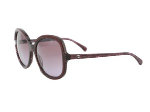 Chanel New CHANEL 5320 Burgundy Oval Signature Collection Sunglasses