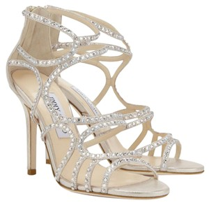Jimmy Choo champagne/gold Pumps
