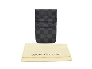 Louis Vuitton Authentic Louis Vuitton Damier Graphite Smart Phone Case Wallet