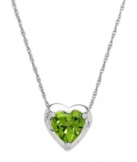 Preload https://item2.tradesy.com/images/jared-10k-white-gold-peridot-heart-necklace-20596-0-0.jpg?width=440&height=440