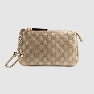 Gucci gucci leather key pouch