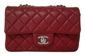Chanel Classic Flap Lambskin Mini Cross Body Bag