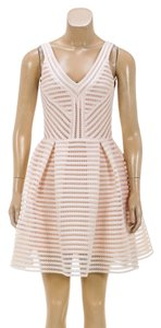 Maje short dress Peach on Tradesy