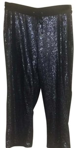 The Limited Capris navy sequin
