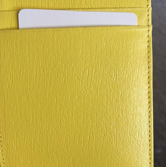 Lancaster Lancaster Made in Italy Stylish Yellow Credit Card Holder