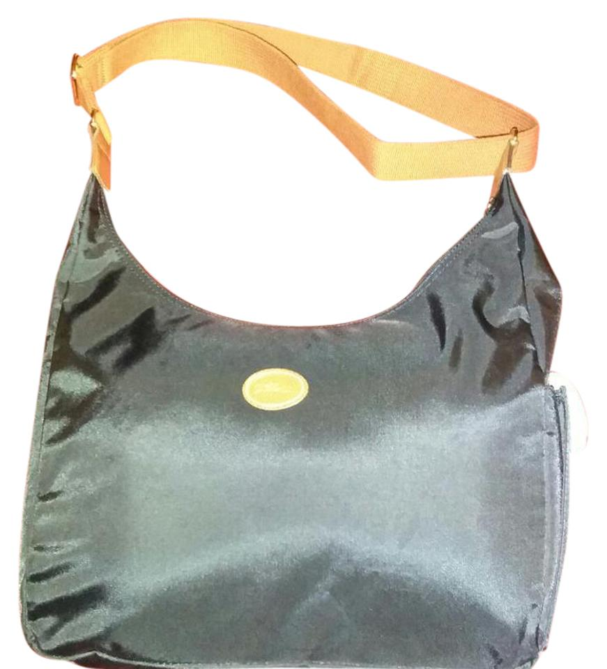a9324264df0b Longchamp Le Pliage Black Nylon Hobo Bag - Tradesy