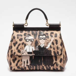 Dolce&Gabbana Leather Family Tote