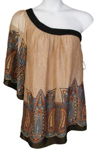 Do & Be One Whisper Sleeve Date Top multicolor