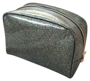 deux lux Deux Lux Mercury Gold Glitter Jelly cosmetic bag