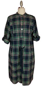 Lands' End short dress Multicolored Plaid on Tradesy