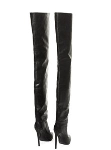 Balenciaga Impossible To Find Kim Kardashian Thigh High Over The Knee black Boots