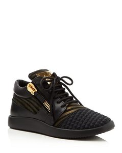 Giuseppe Zanotti Mixed Media Athletic