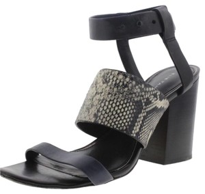 Elie Tahari Black, Blue, White Sandals