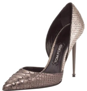 Tom Ford silver Pumps