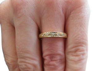Other REDUCED Fine 18k seven stone Diamond half eternity Vintage ring