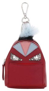 Fendi NWT Fendi Monster Genuine Fox Fur Trim Backpack Bag Charm