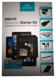 Mercury New With Tags Universal Starter Kit for Tablets by Mercury