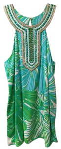 Lilly Pulitzer Captiva Tusk In Sun Tunic
