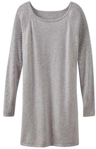Athleta short dress Gray Sweater Cozy Comfy on Tradesy