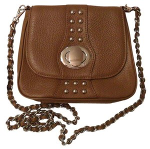 Bodhi Leather Chestnut Spring Street Cross Body Bag