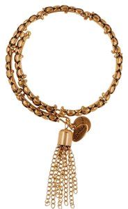 Alex and Ani NWT Tassel Coil Bracelet in Rafaelian Gold