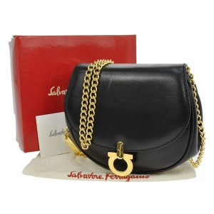 Salvatore Ferragamo Gancini Chain Shoulder Bag