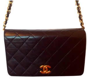 Chanel Vintage Lambskin Mini Cross Body Bag