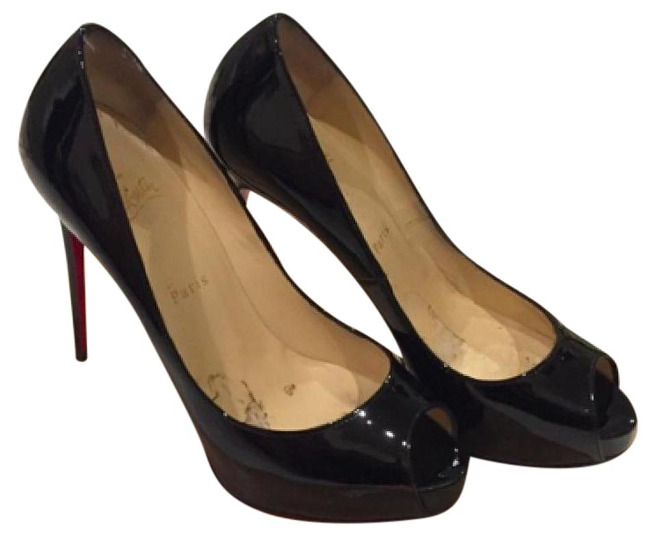christian louboutin new very prive heels black pumps on sale 12 off pumps on sale. Black Bedroom Furniture Sets. Home Design Ideas
