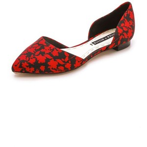 Alice + Olivia Floral Flats