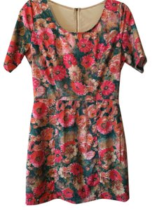 Gianni Bini short dress Floral on Tradesy