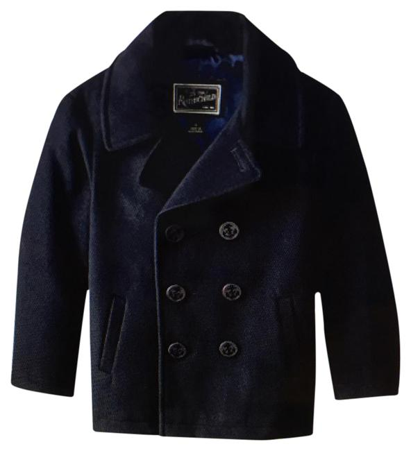 Item - Midnight Little Boys Double Breasted Coat Size OS (one size)