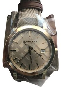Burberry Burberry Women's Housecheck Fabric Strap Watch 38mm BU9041