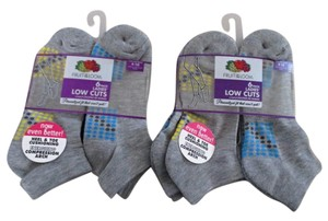 Fruit of the Loom Two New Women's 6-Pack Low Cut Socks Size 4-10 by Fruit of the Loom